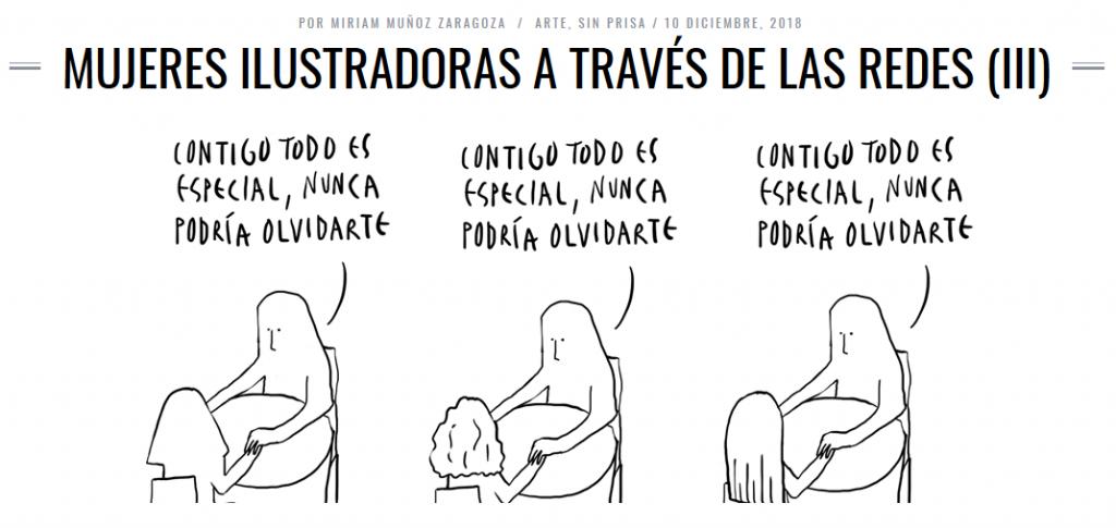 Mujeres ilustradoras.