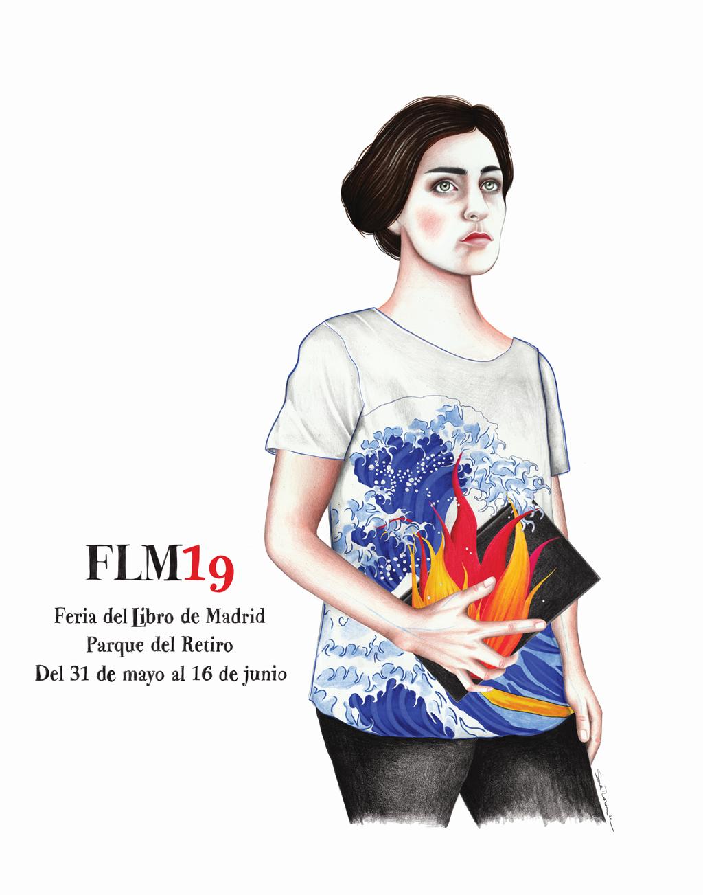 Cartel Feria del Libro de Madrid 2019.