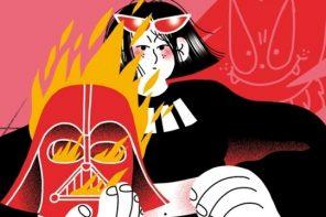 Princesas y Darthvaders: ¡Dale duro al humor, feaminista!