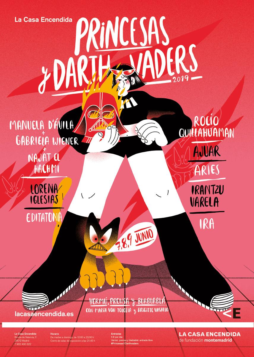 Cartel de la ilustradora Genie Espinosa.