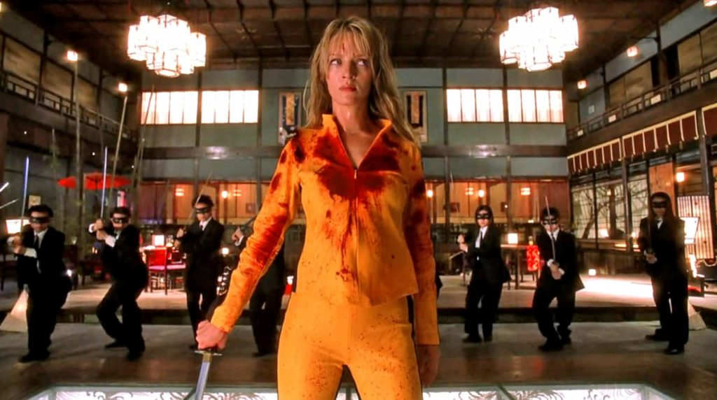 Pelea Samurai en 'Kill Bill volumen 1'