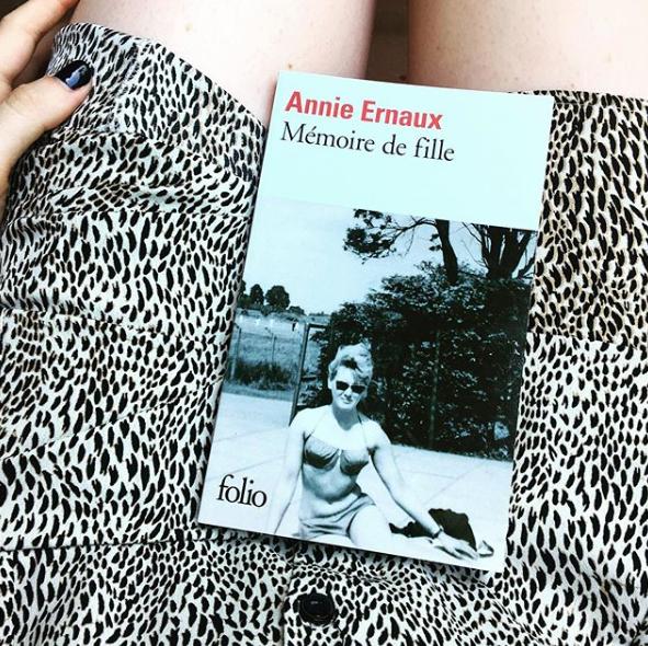 'Memoria de chica'. En el club de Los libros de Luna.