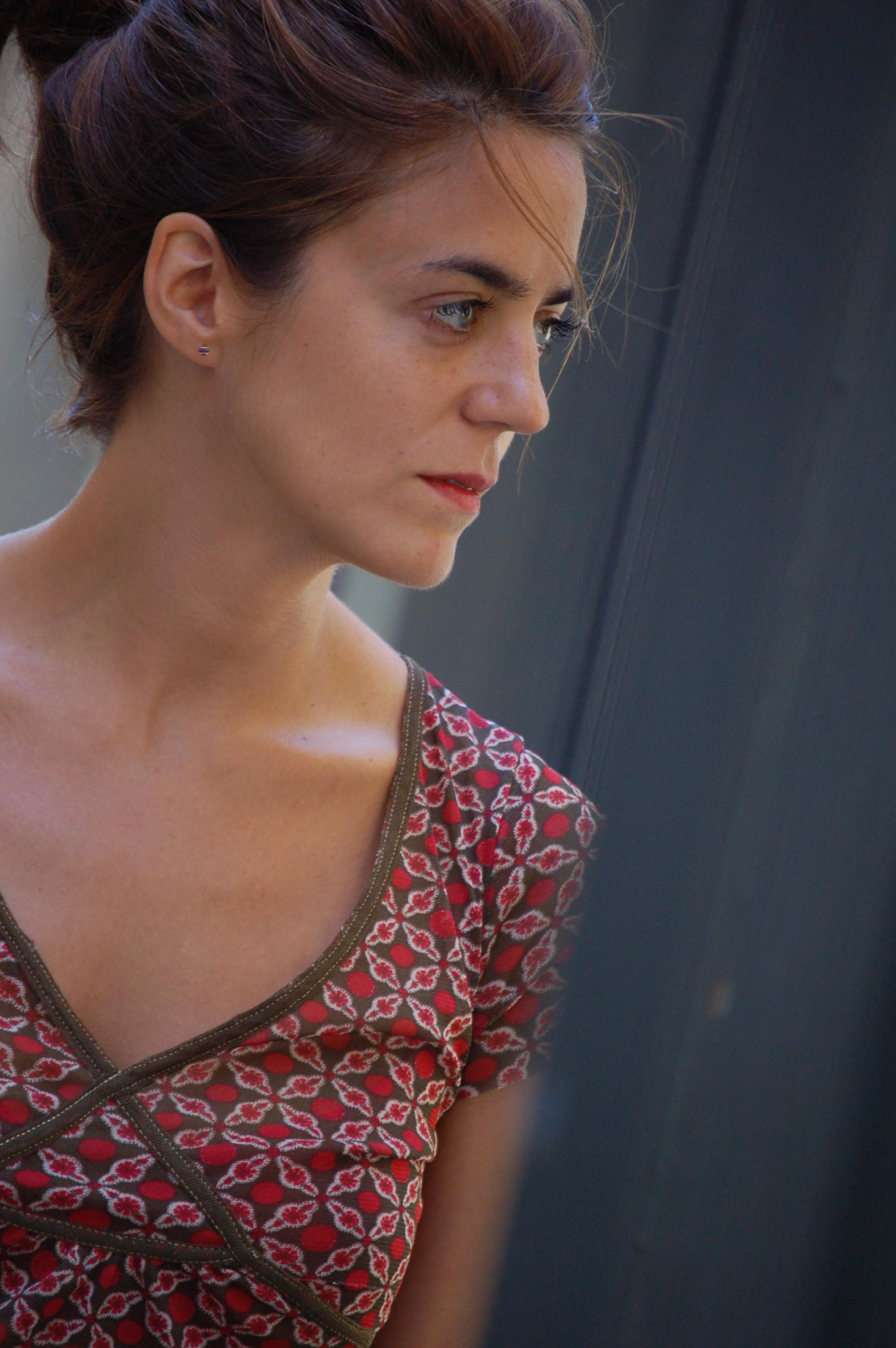 La escritora Eider Rodríguez