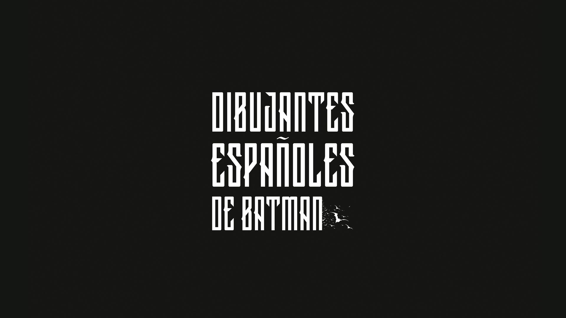 Dibujantes españoles de Batman.