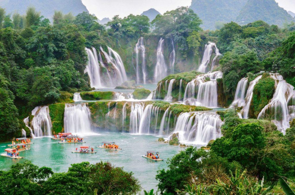 Cataratas Ban Gioc, Vietnam.