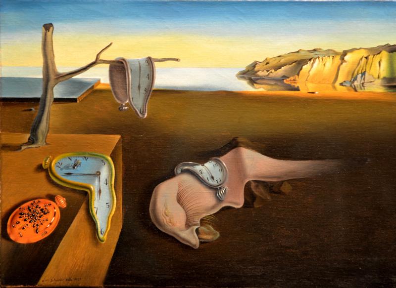 La persistencia de la memoria, Salvador Dalí.