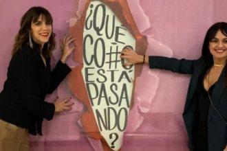 Marta Jaenes y Rosa Márquez, autoras del documental.