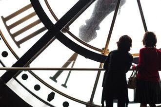 Reloj en el Museo Orsay.