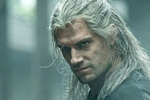 Geralt de Rivia en The Witcher.
