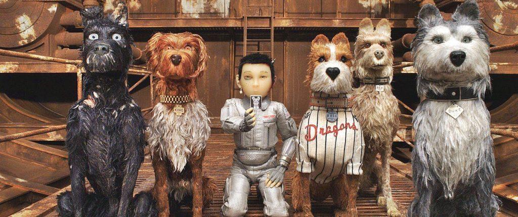 Fotograma de 'Isle of dogs'.