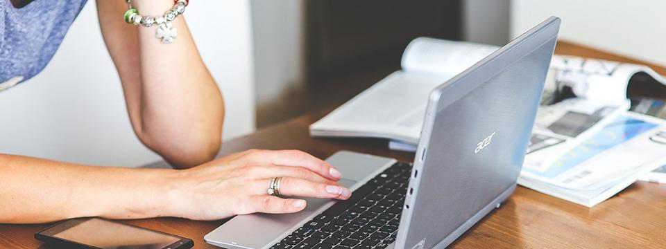 Escribir online.