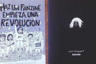 Fanzines de Andrea Galaxina y Lidia Damunt.