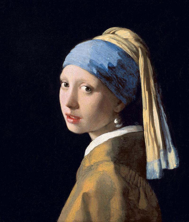 La joven de la perla.