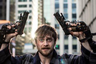 Daniel Radcliffe en 'Gus Akimbo'.