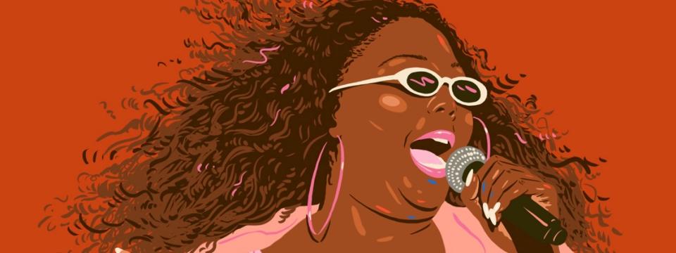 Lizzo por Monique Aimee.