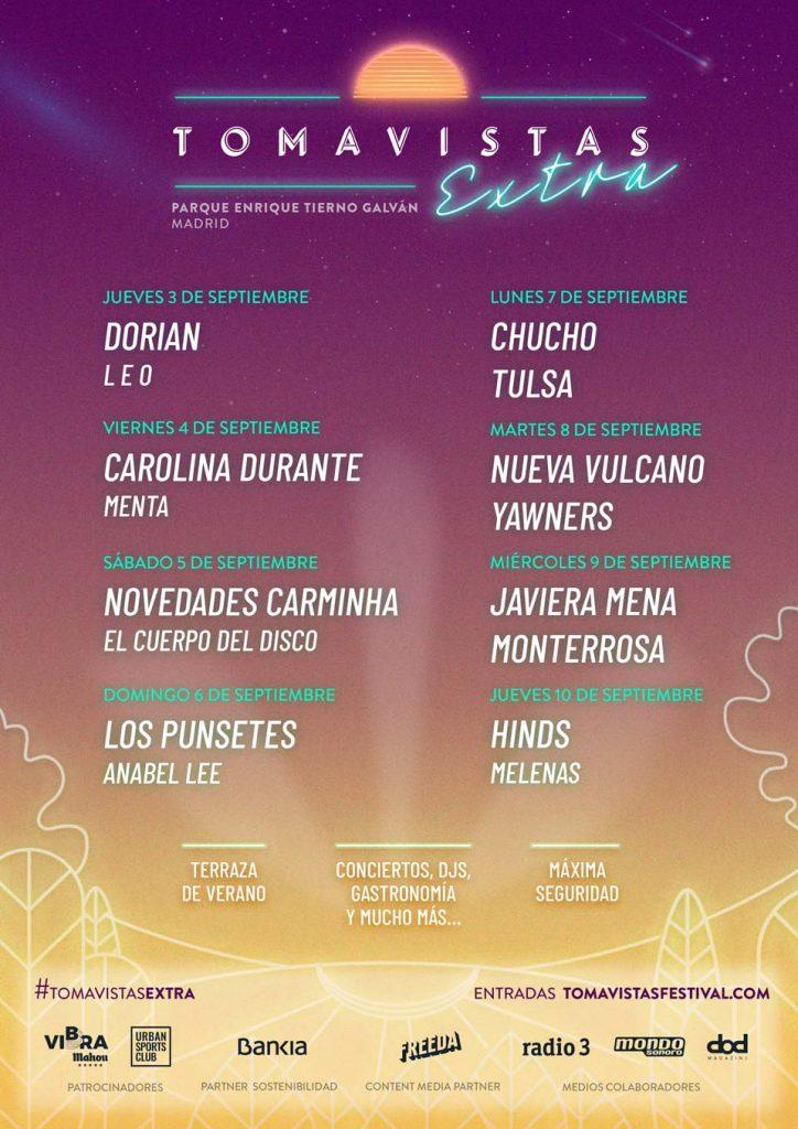 Tomavistas Extra. Festival verano 2020.