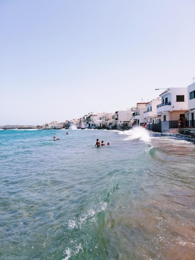 Playa Ojos de Garza.