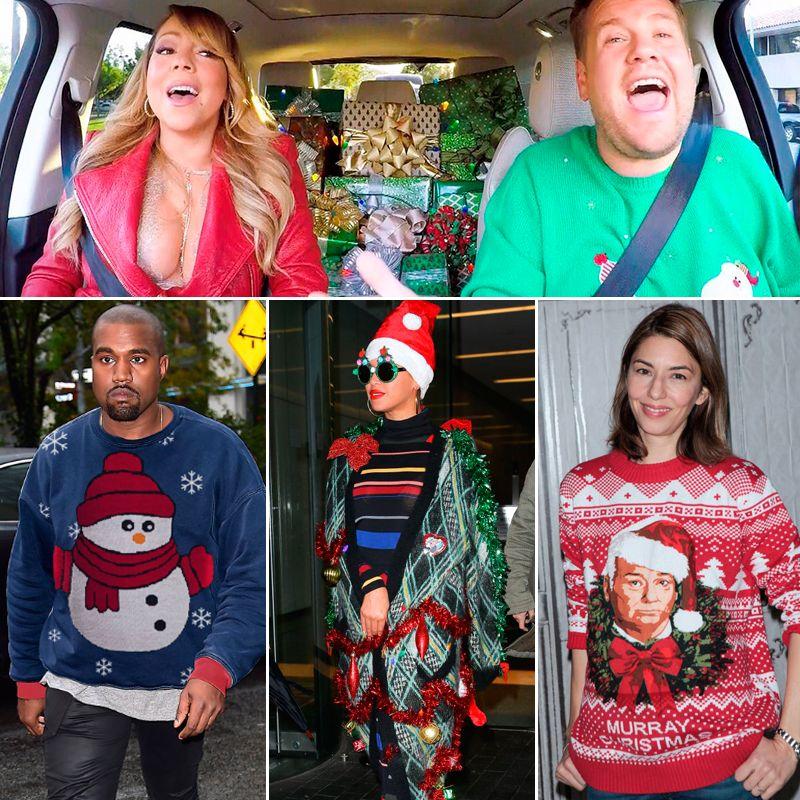 Los famosos se unen a esta moda navideña tan festiva.