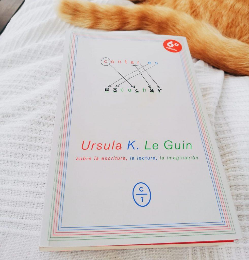 'Contar es escuchar' de Ursula K. Le Guin.