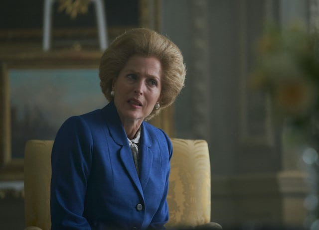 Margaret Thatcher en 'The Crown'.