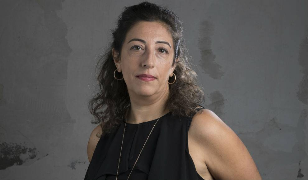 """María Frisa, autora de """"El nido de la araña"""""""