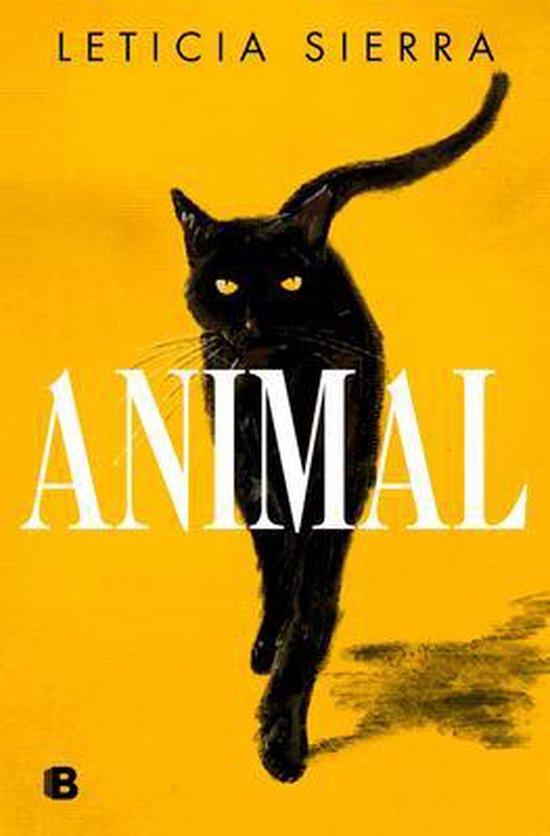 Portada de la novela Animal.