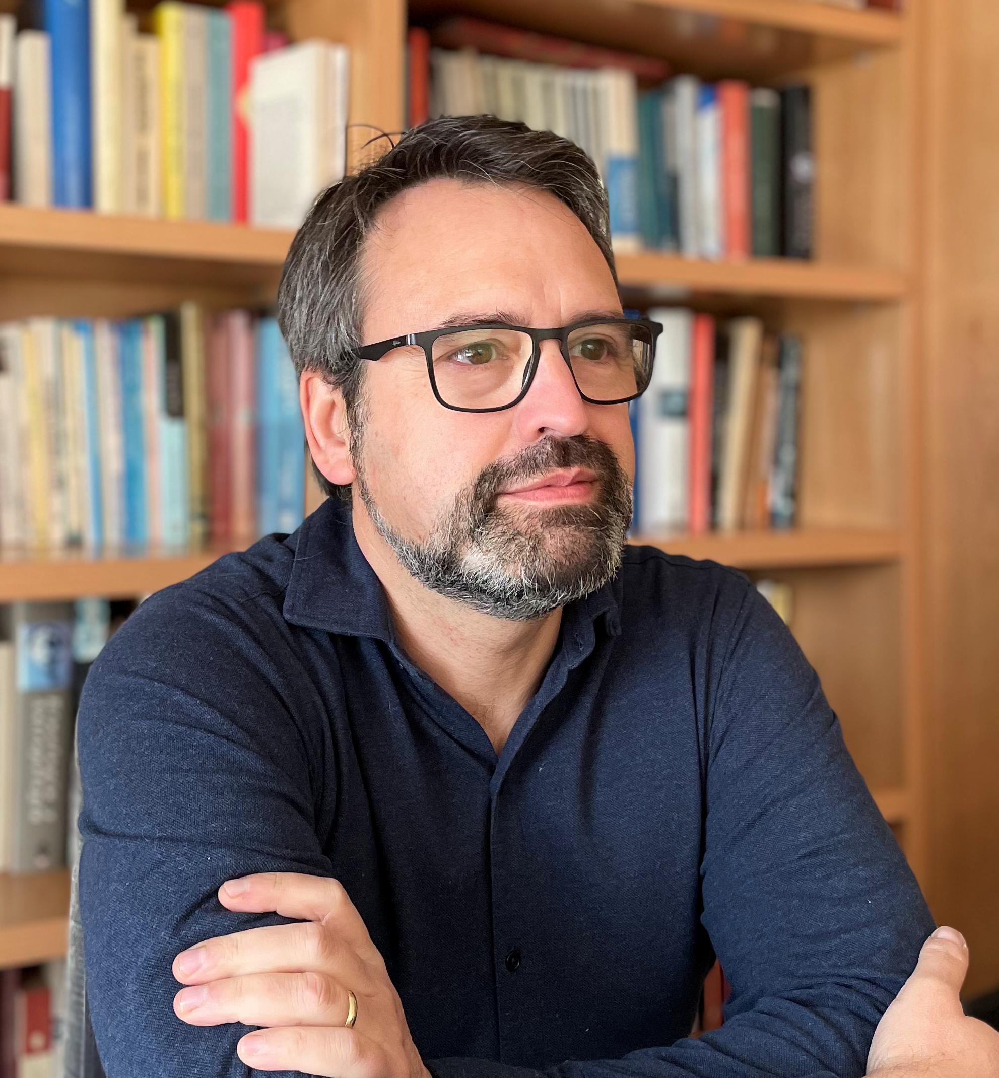 """Juan Francisco Ferrándiz, autor de """"El juicio del agua"""""""