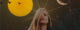 Eva Ryjlen en la portada de su nuevo trabajo 'Onírica'.