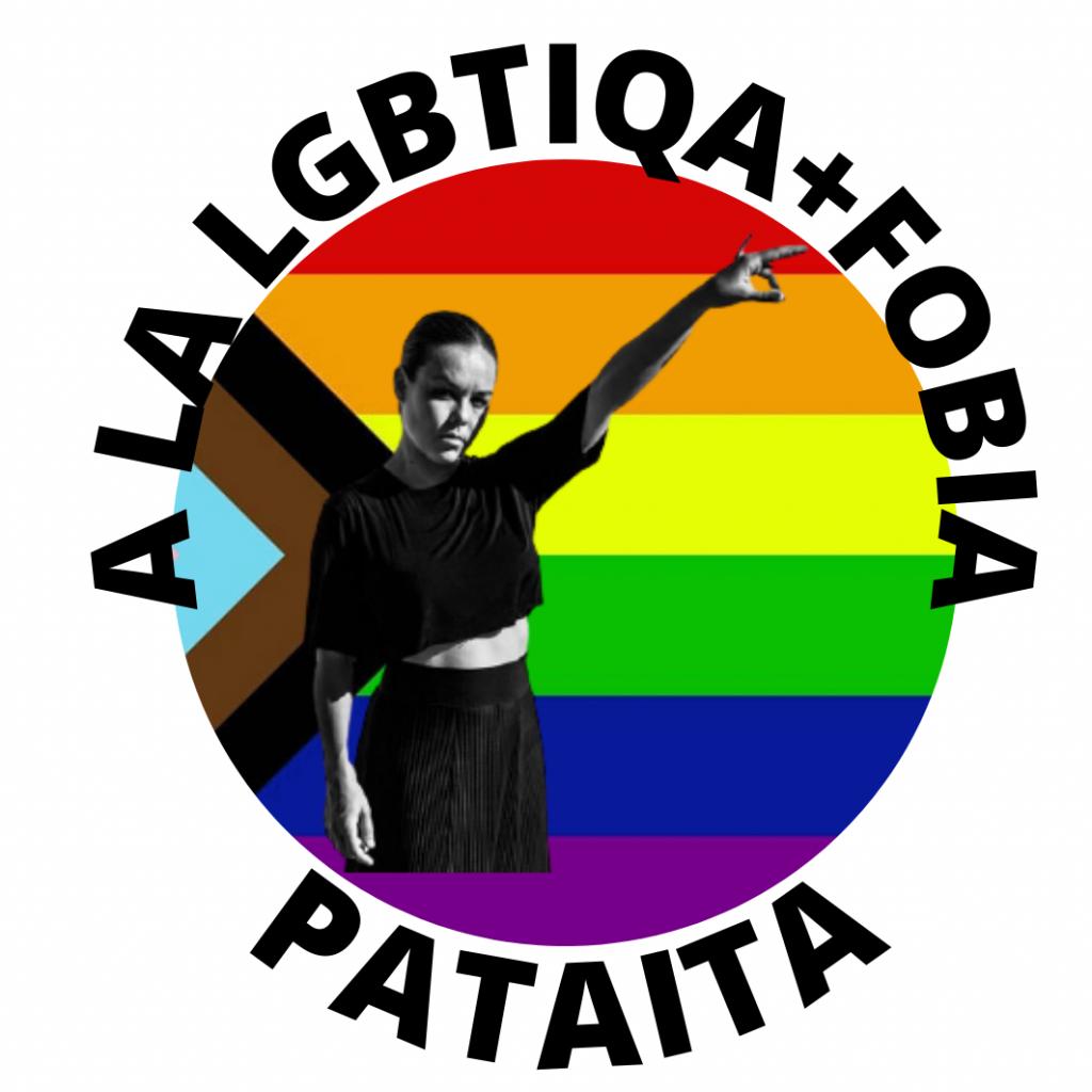 Rocio Molina pegatina antifascista