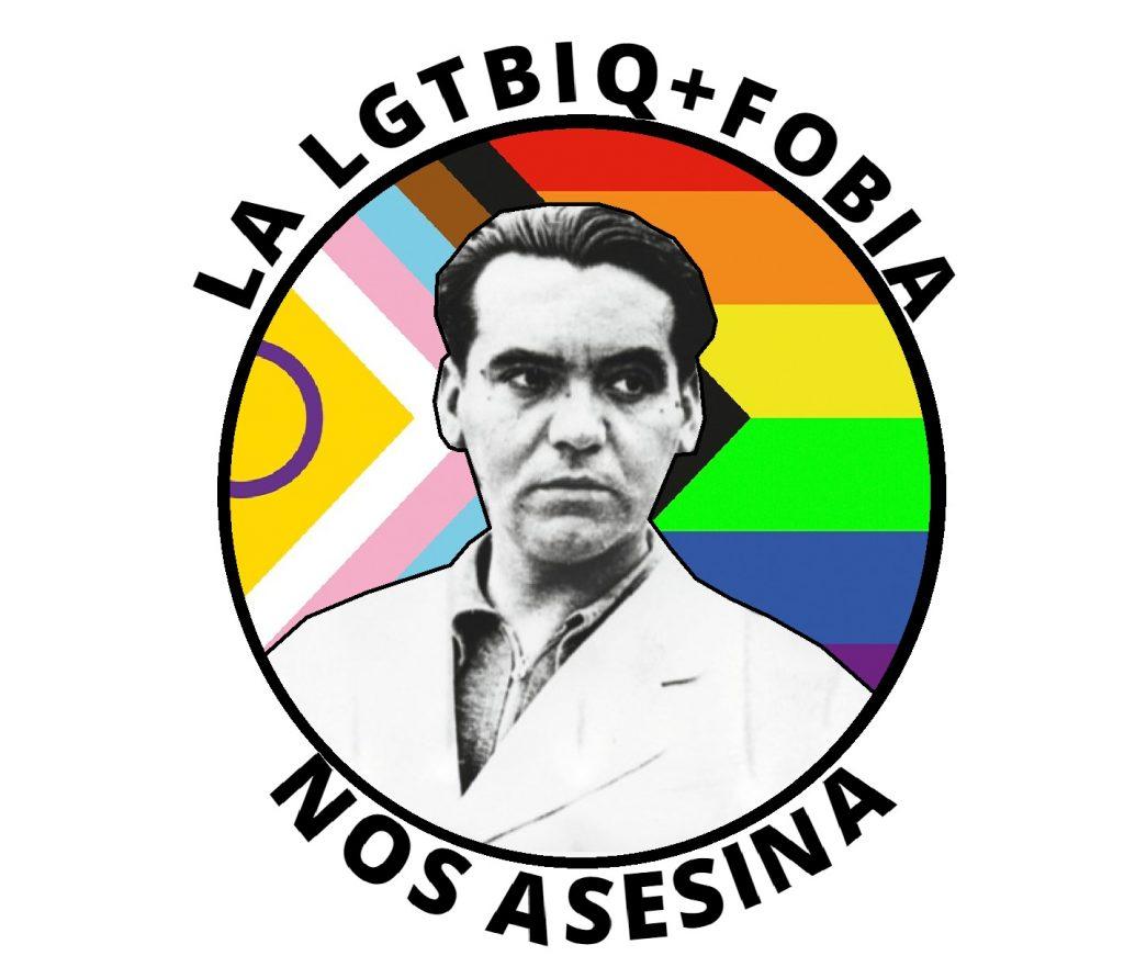 Lorca pegatina antifascista