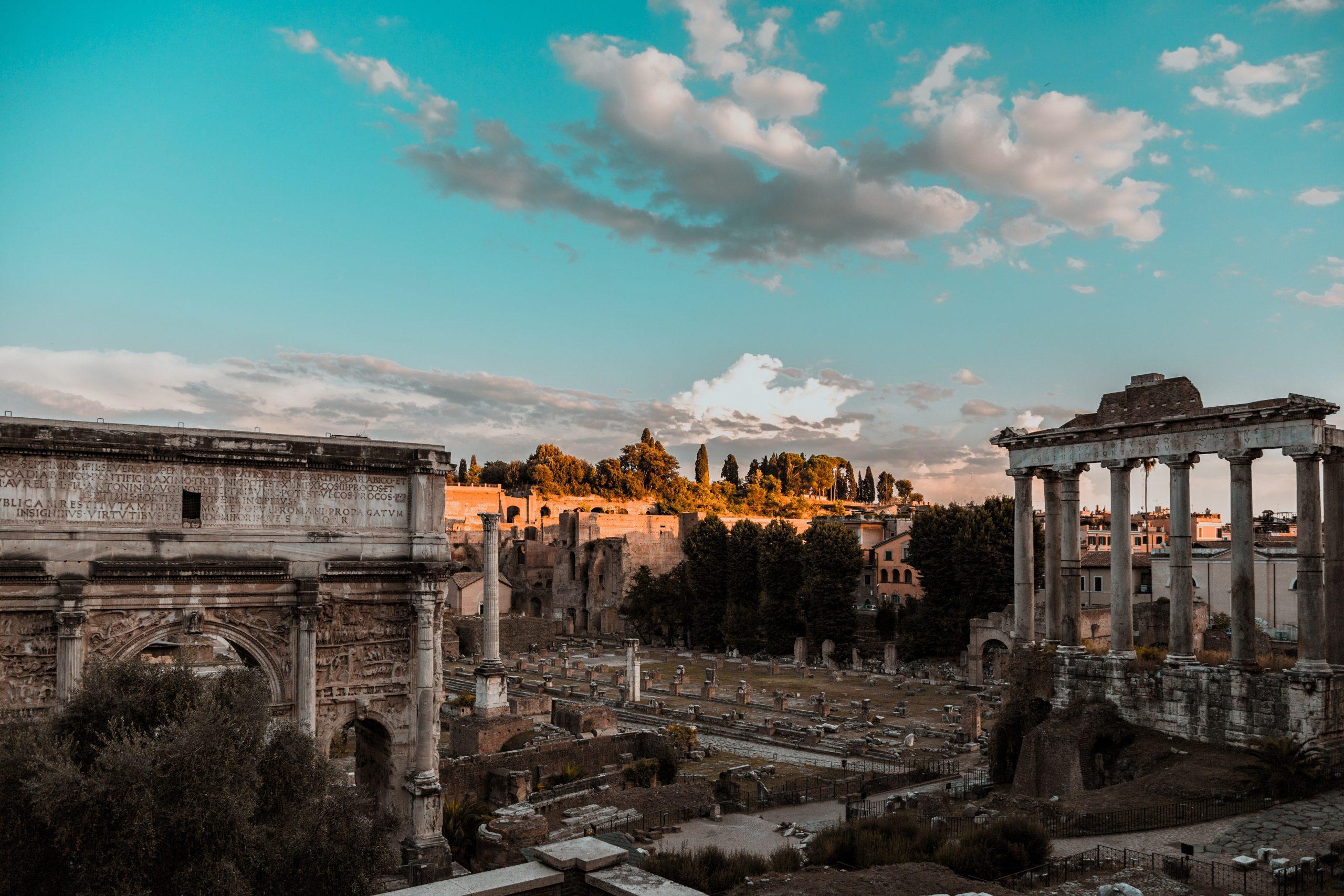 Roma era el destino del Grand Tour.